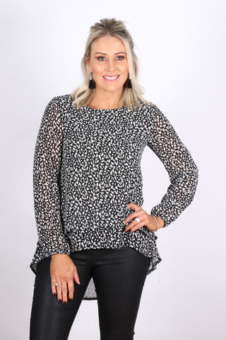 Elwood Top in Black