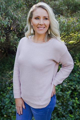 Slater Jumper in Blush
