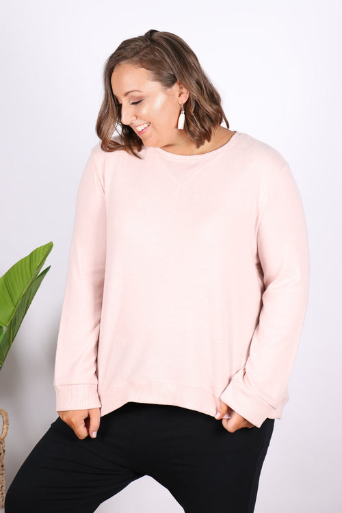 Ryder Cosy Sweater in Blossom