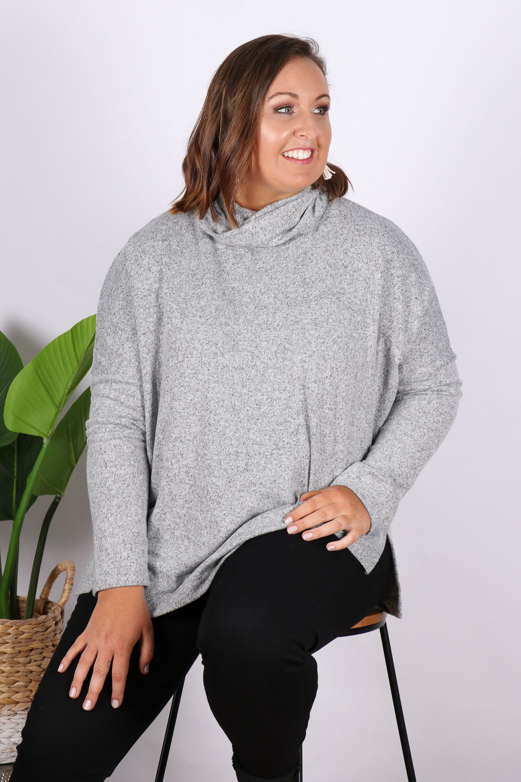 Ivo Cosy Pullover in Storm