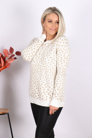 Shae Jumper in Ivory