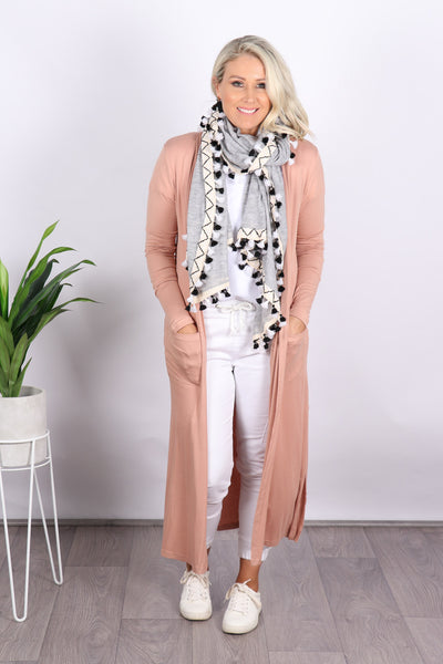 Bligh Lightweight Cardi in Blush