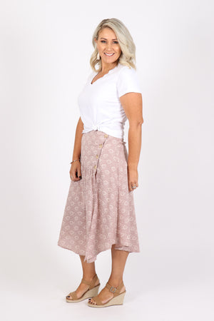 Reflections Skirt in Rose