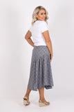 Reflections Skirt in Blue Steel