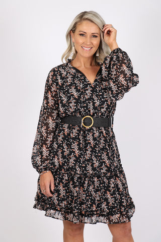 Treasures Dress in Black