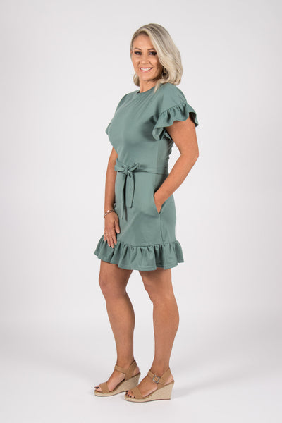 Sorrento Dress in Cactus