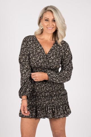Beccie Dress in Black