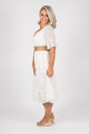 Chantelle Dress in White