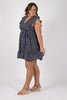 Dolly Dress in Navy