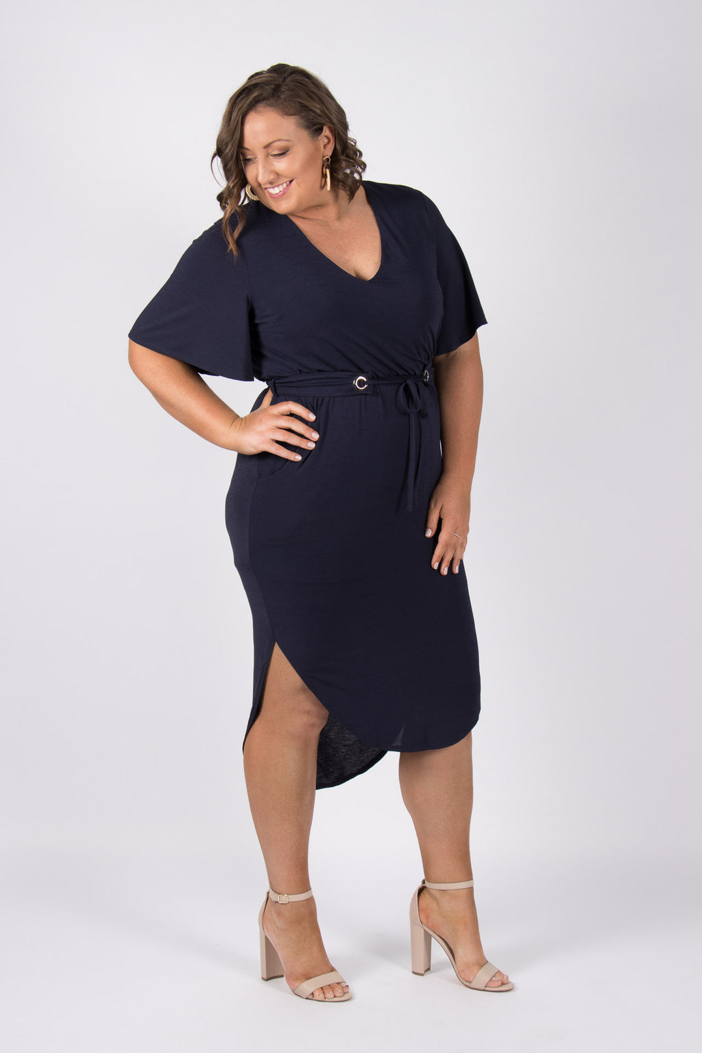 Daydream Dress in Navy