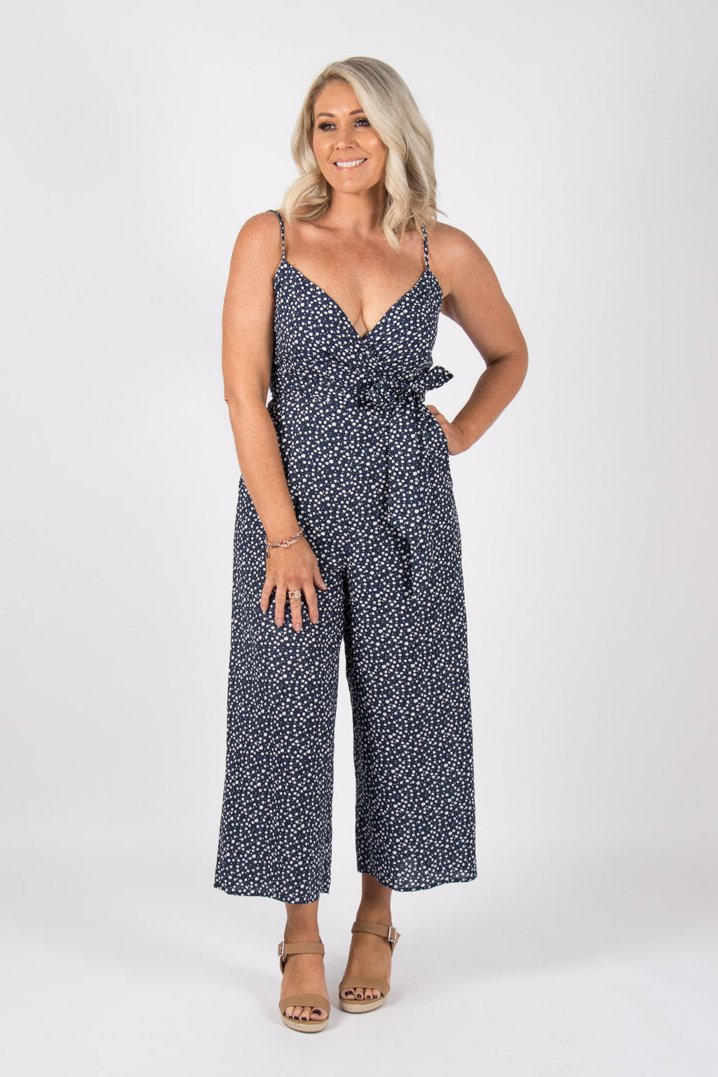 Milson Jumpsuit in Navy