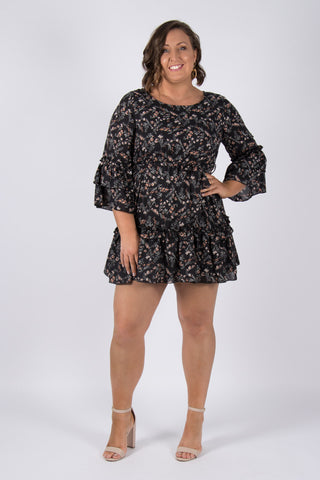 Aries Dress in Black