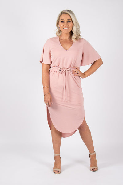 Daydream Dress in Pink