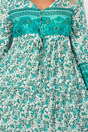 Absolute Dress in Turquoise