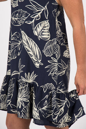 Silvan Dress in Navy
