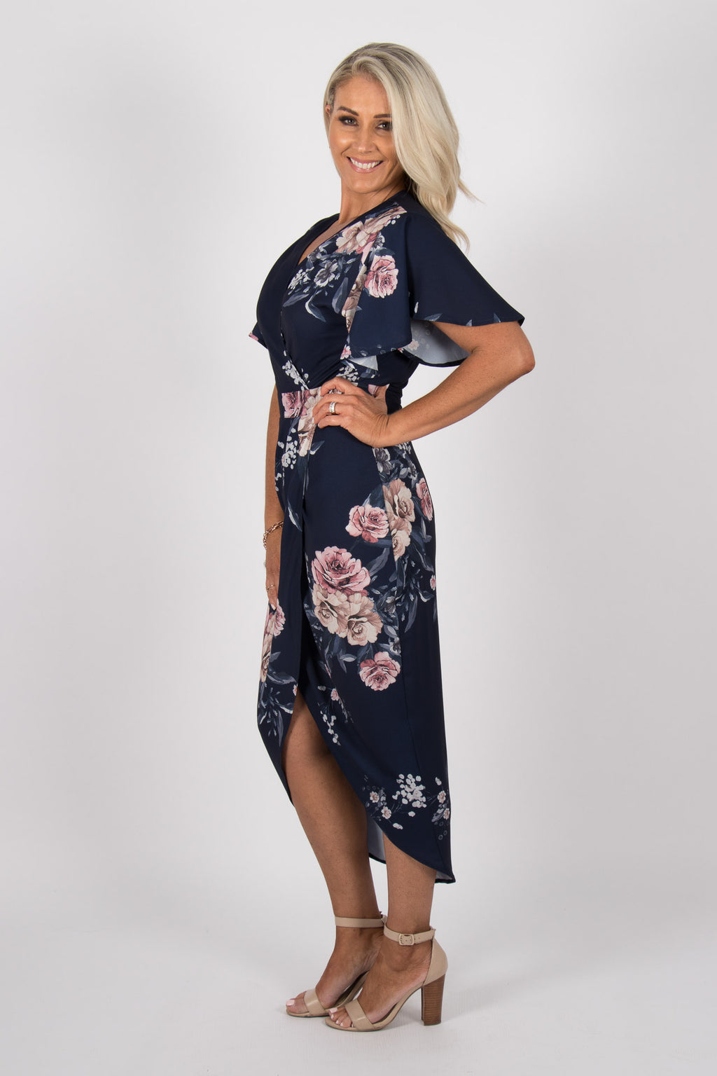 Nico Dress in Navy