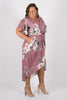 Sharni Dress in Summer Plum