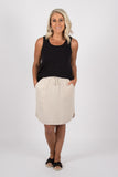 Arlo Skirt in Natural