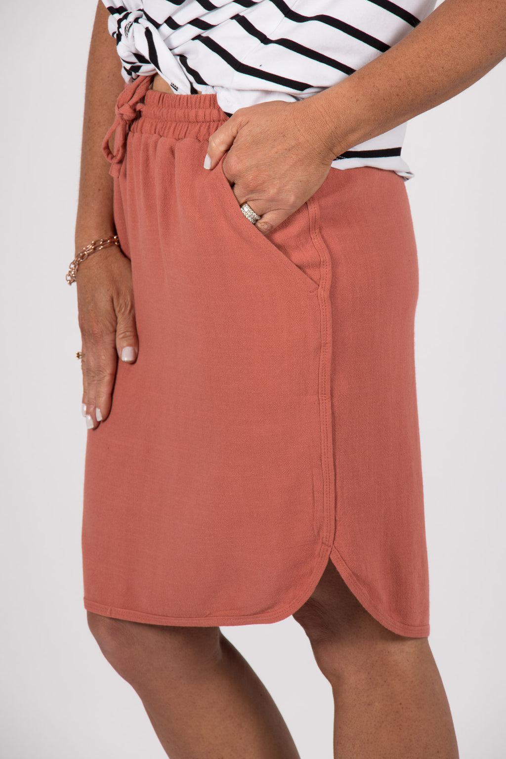 Arlo Skirt in Rose