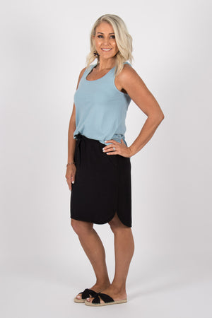 Arlo Skirt in Black