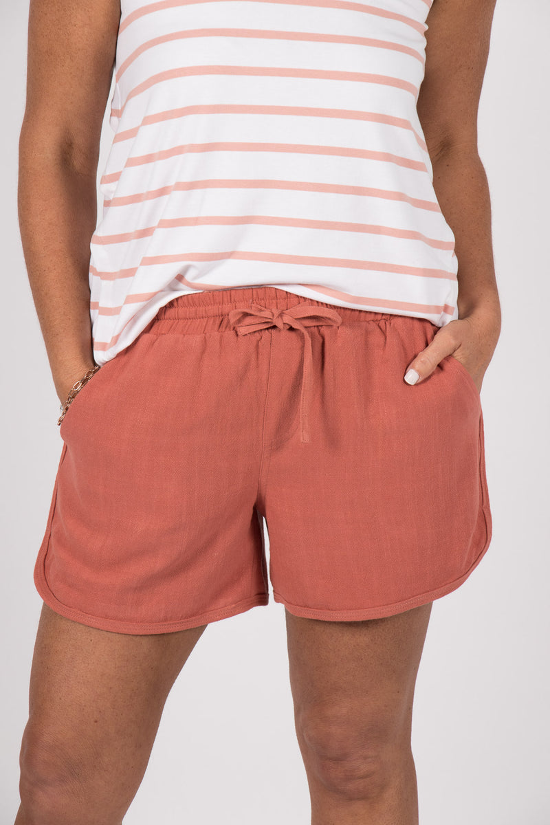 Charlie Shorts in Rose