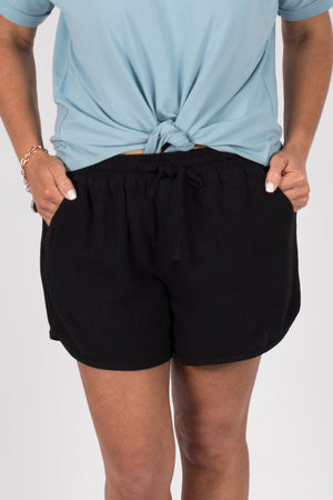 Charlie Shorts in Black