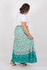 Arizona Maxi Skirt in Jade Green