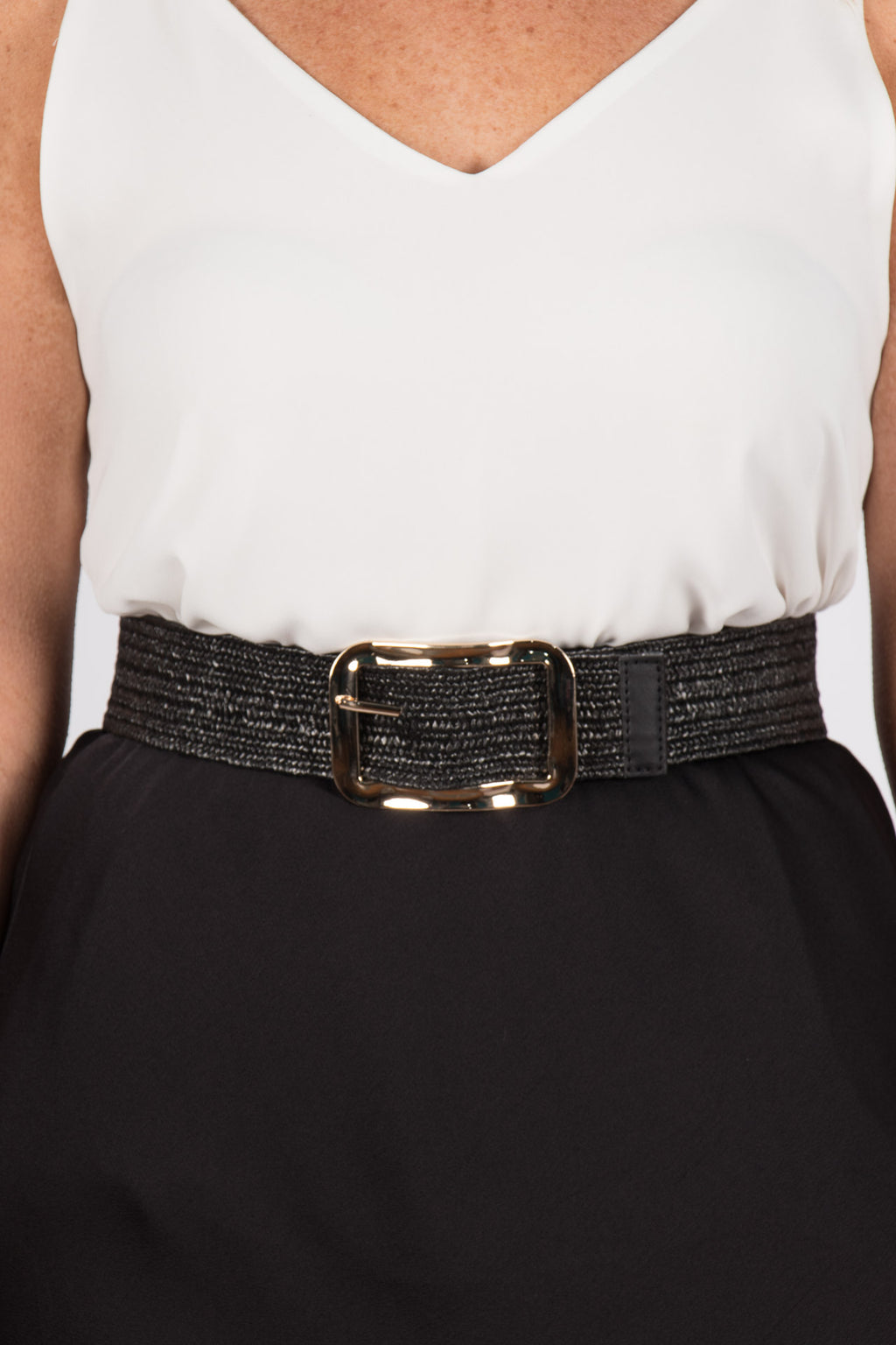 Maddison Stretch Belt in Black