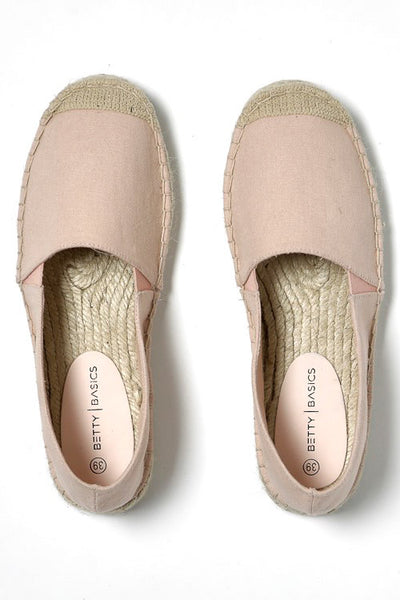 Vacation Espadrille Pull On in Blush