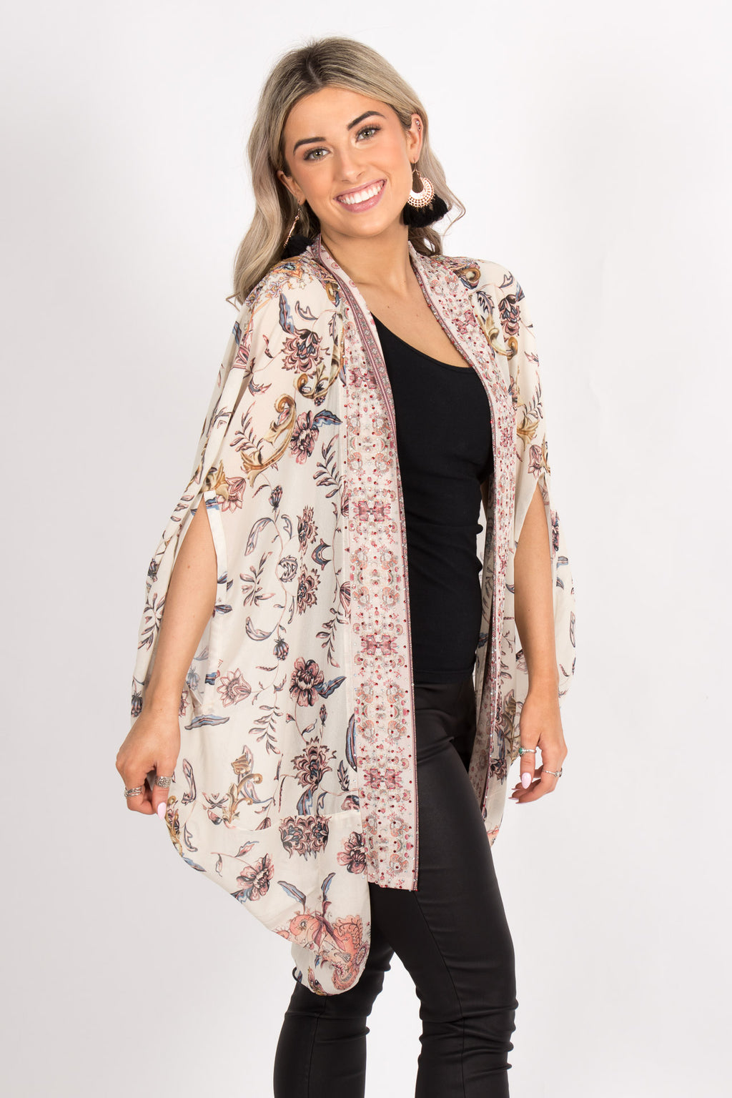 Clara Cape in Beige