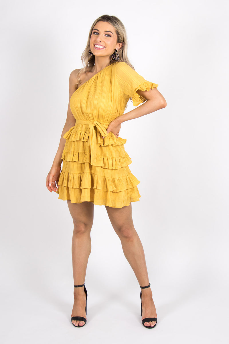 Marley Dress in Sunflower