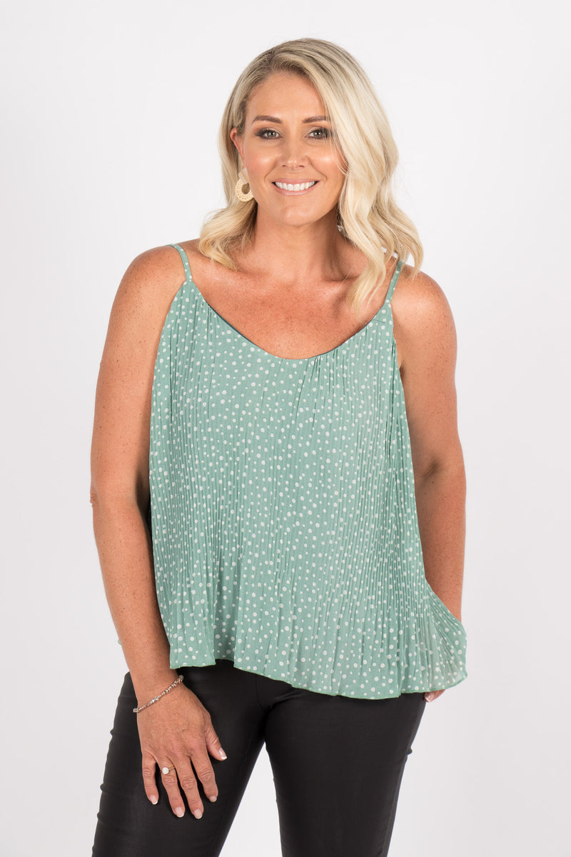 Faithful Cami in Sage