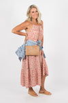 Reagan Maxi Dress in Pink