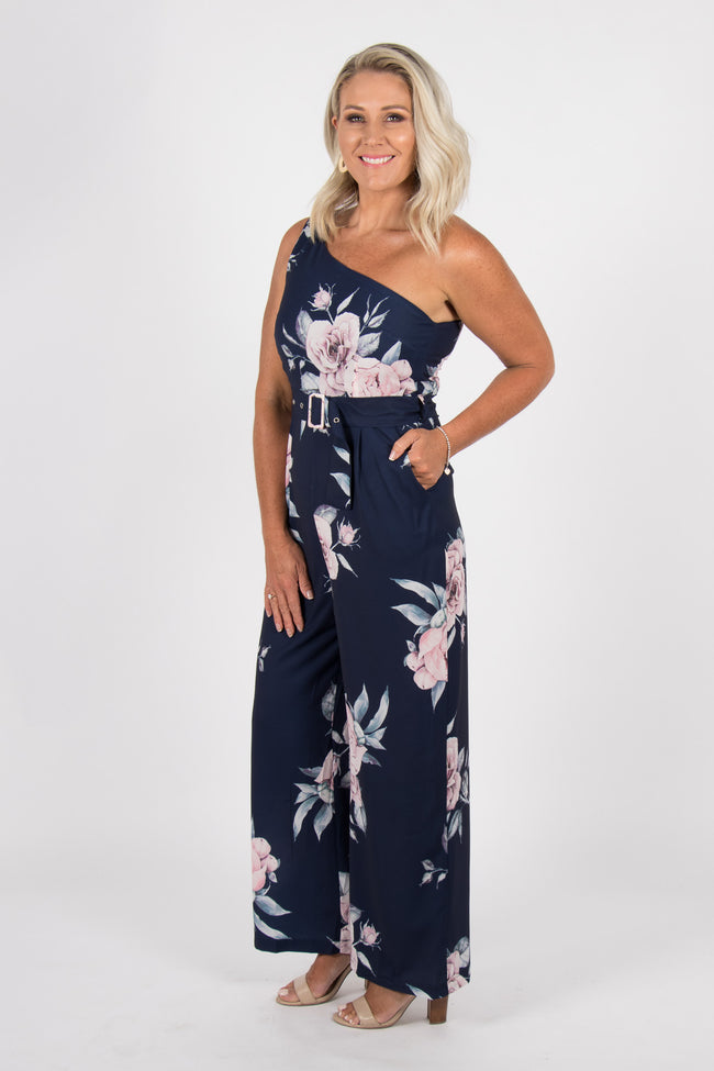 Fortune Pantsuit in Navy