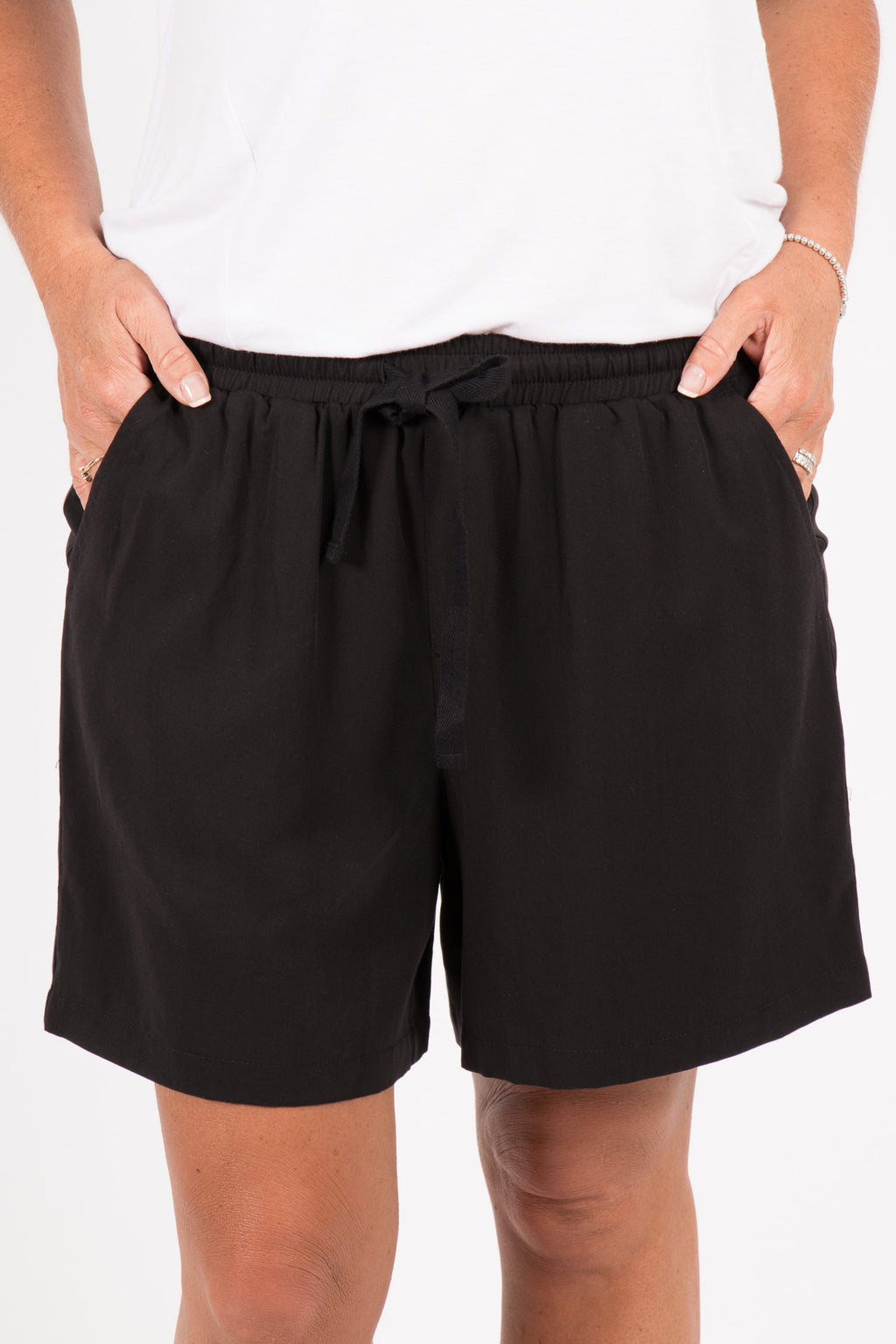 Ziggy Shorts in Black