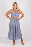 Tamsin Dress in Blue