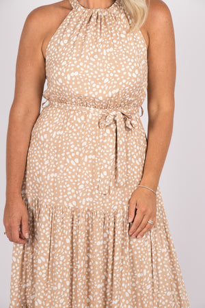 Perry Dress in Nude