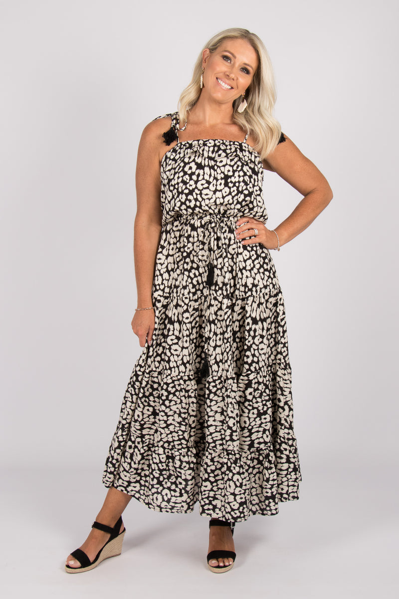 Laneways Dress in Cheetah