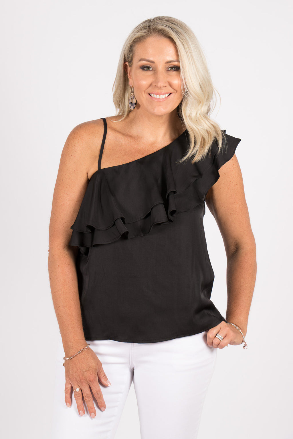 Angelica Top in Black