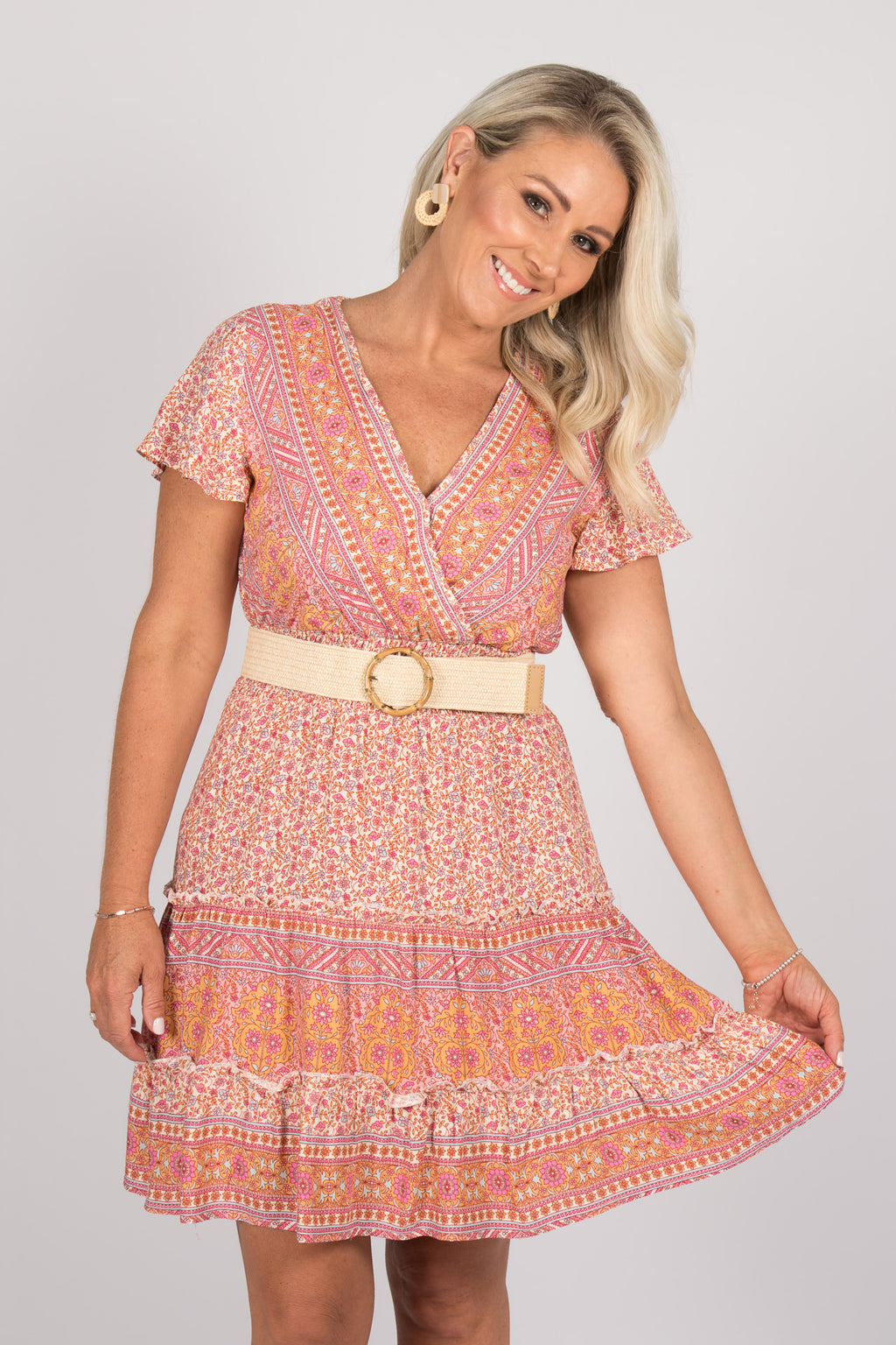 Joyful Dress in Pink