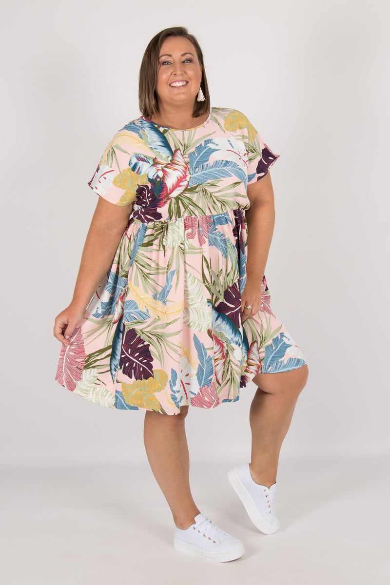 Aspen Dress in Tropical Print