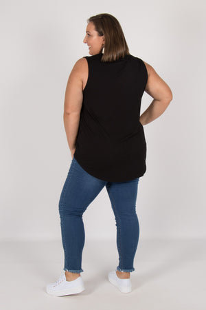 Capri Tank in Black