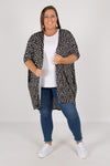 Valencia Cardigan in Heart Ocelot