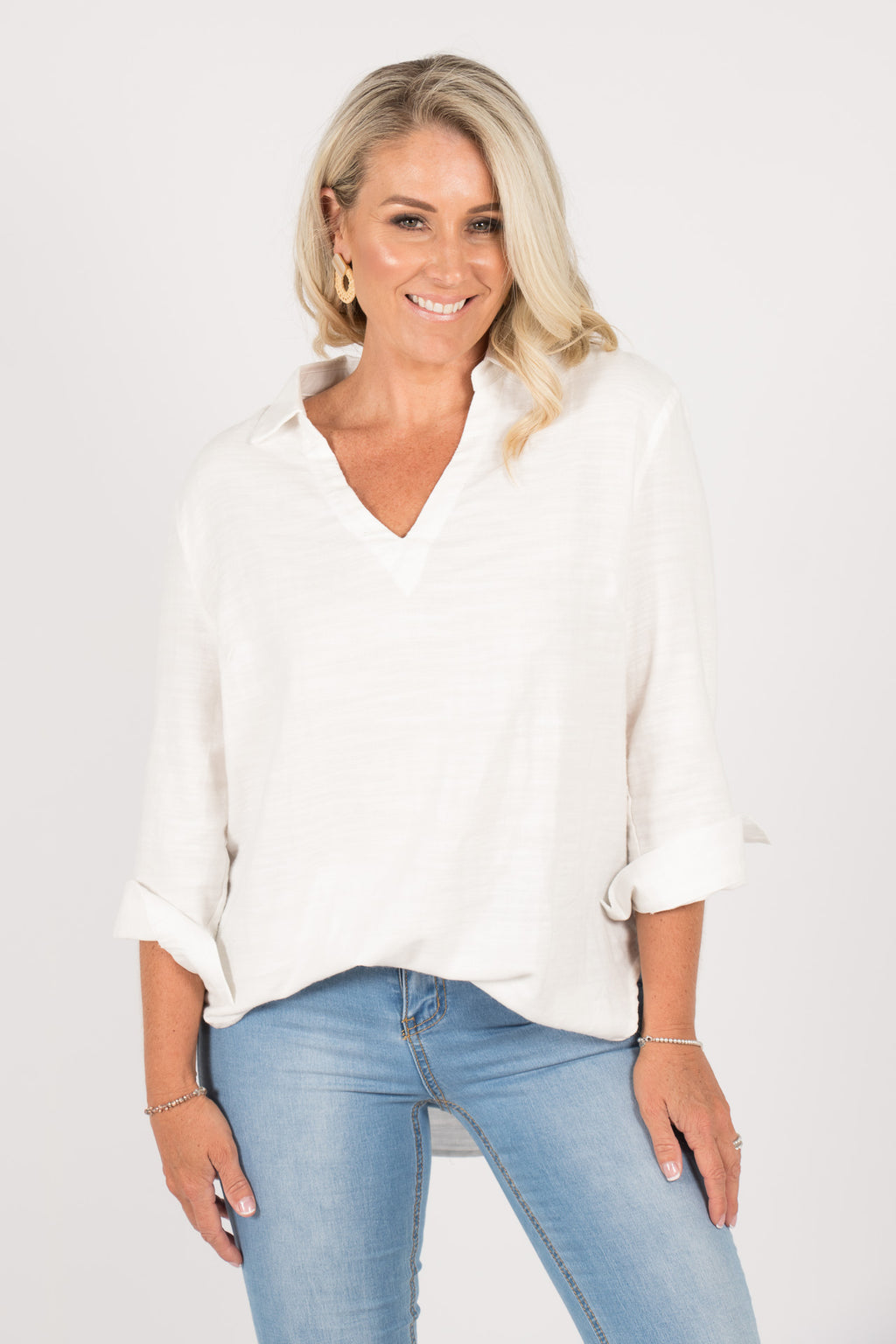 Kyra Shirt in Ivory