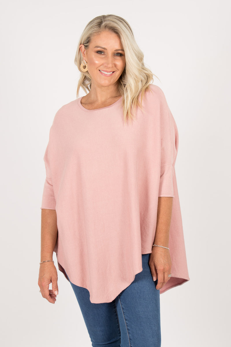 Charlie Knit Top in Pink