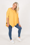 Charlie Knit Top in Mustard