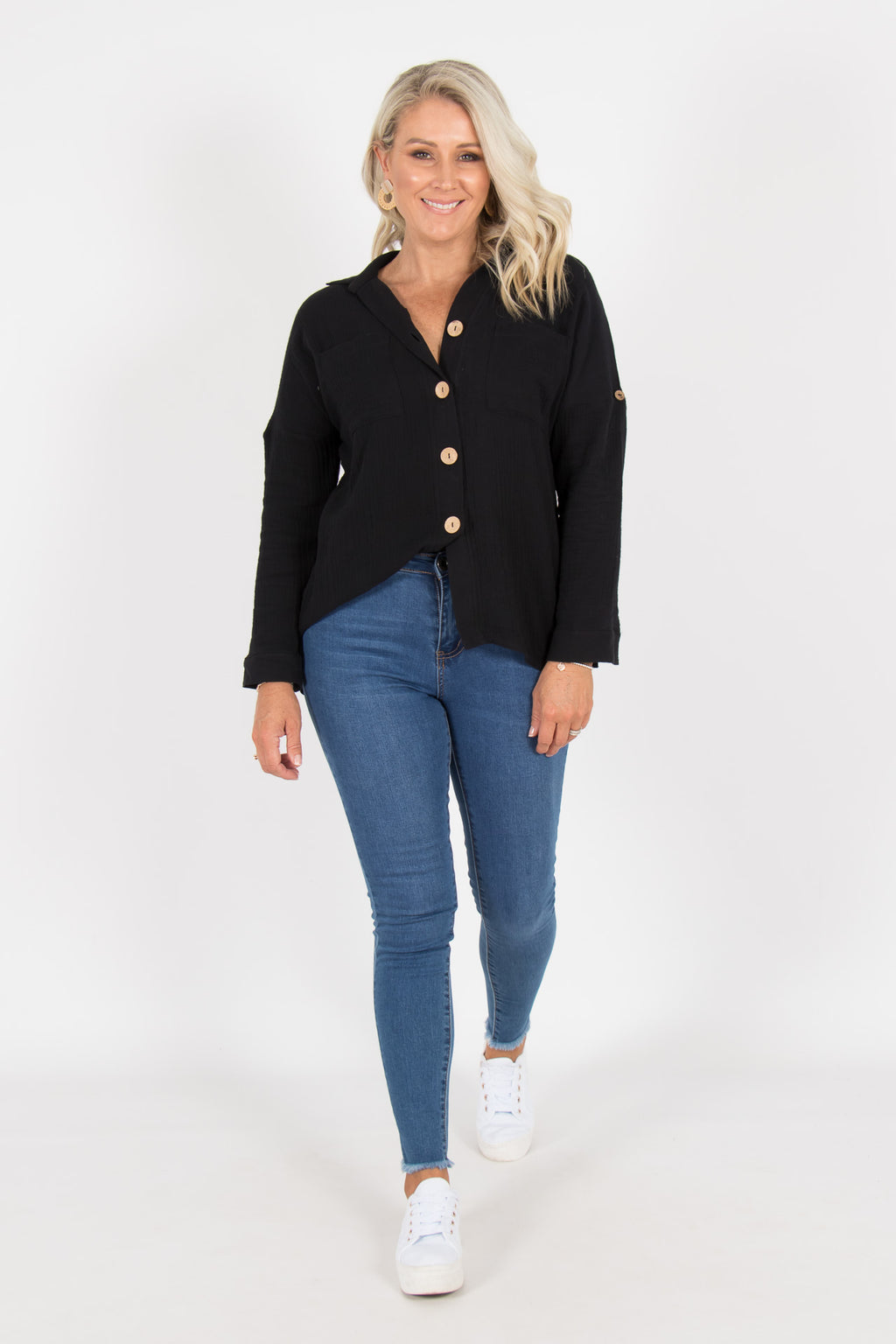 Cremorne Shirt in Black