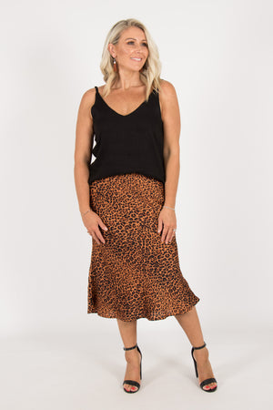 Ardent Skirt in Leopard