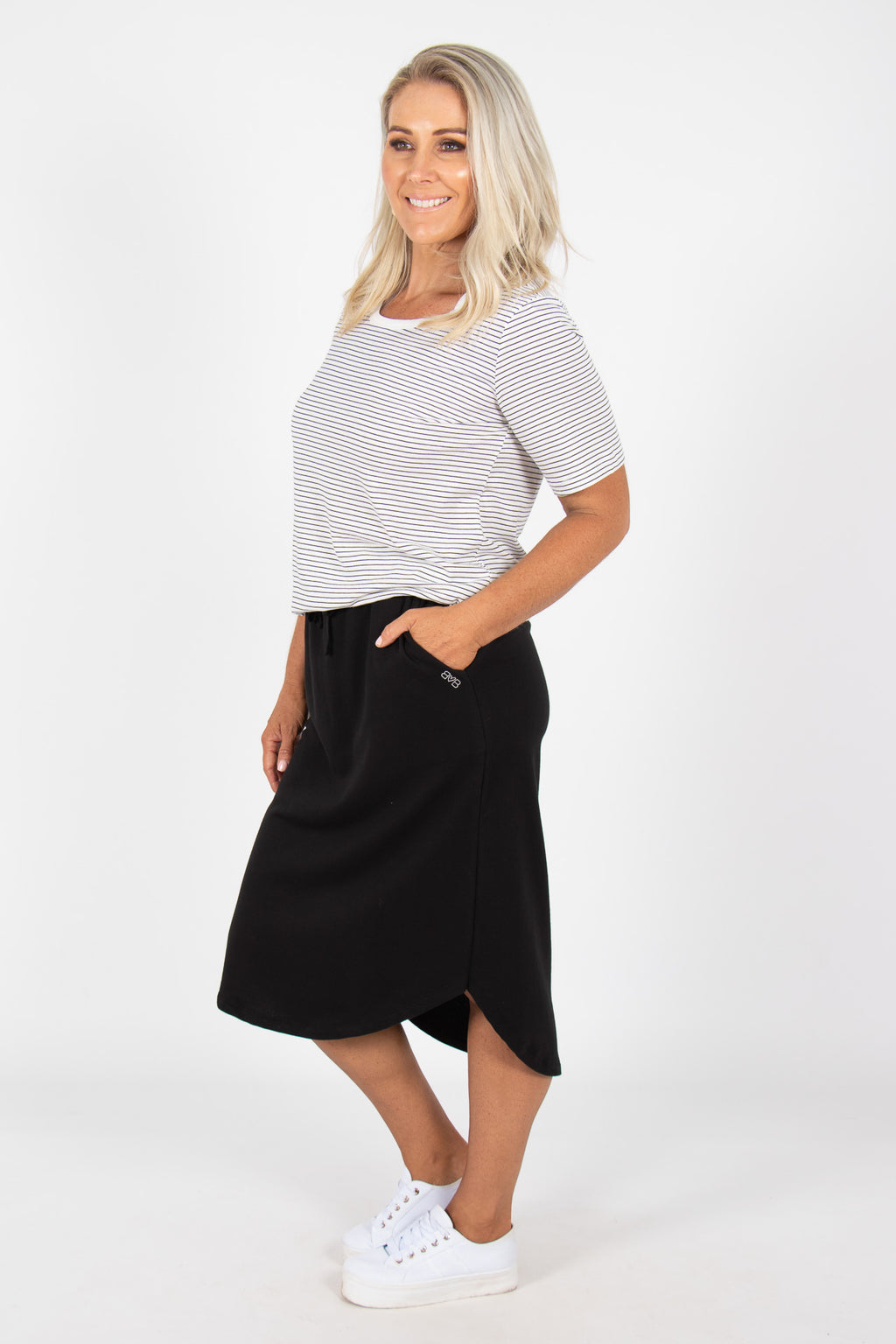 Ellen Skirt in Black