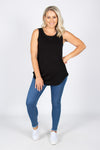 Keira Tank in Black
